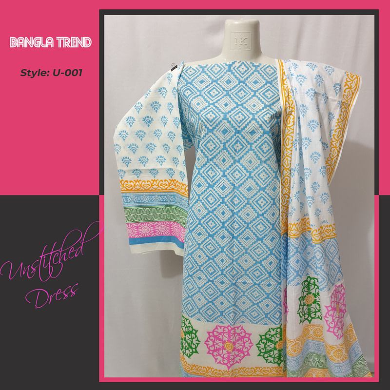 U-001 Unstitched Dress