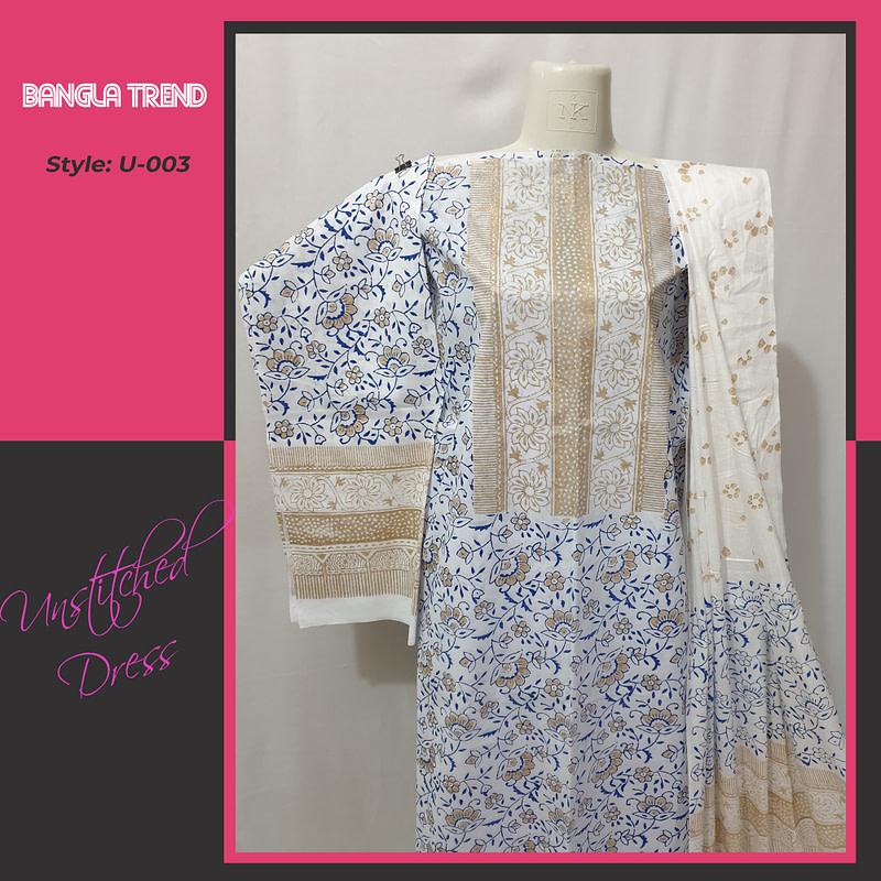 U-003 Unstitched Dress